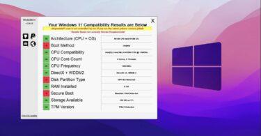 whynotwin11 verifier la compatibilite windows 11