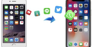 anytrans transfert donnees android vers iphone