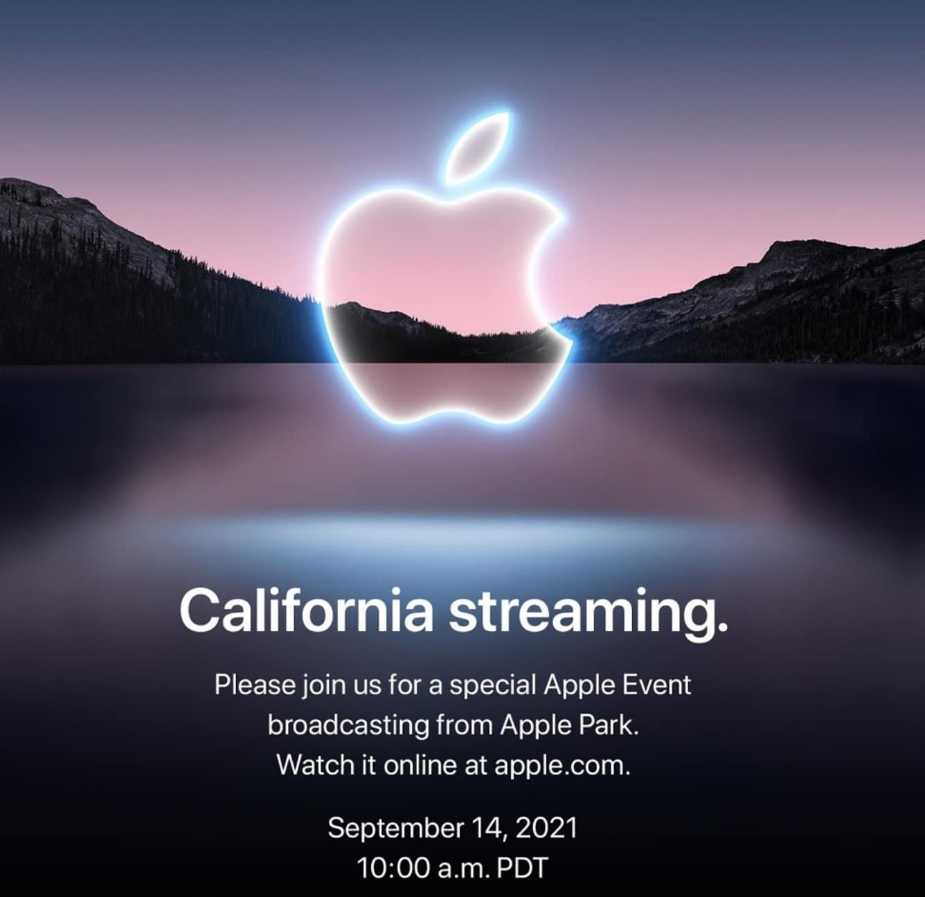invitation apple iphone 13 california streaming