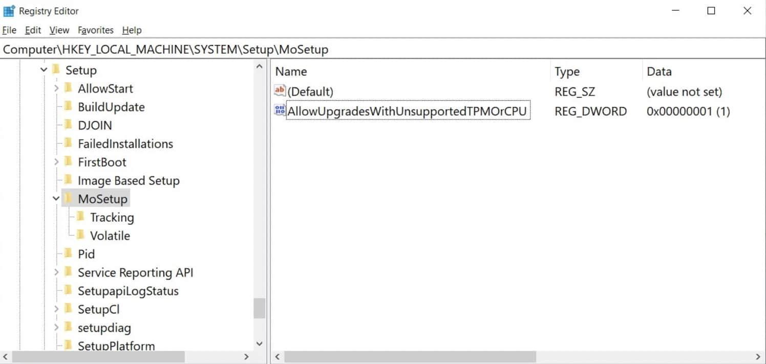 editer registre windows 11