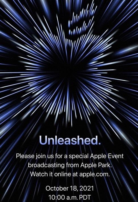 evenement apple 18 octobre 2021